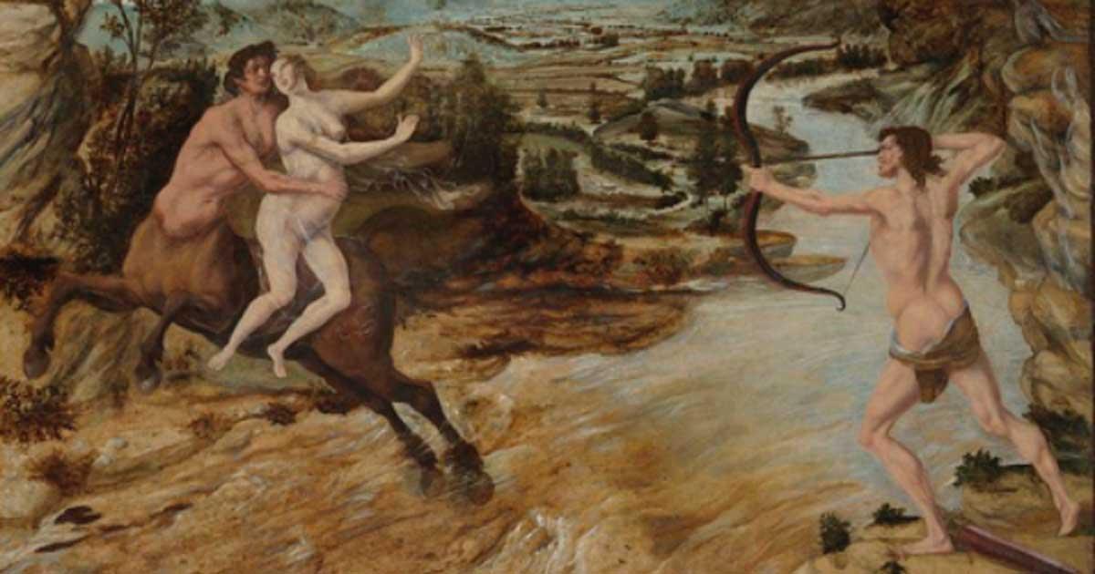 Hercules and Deianira circa 1475–80.
