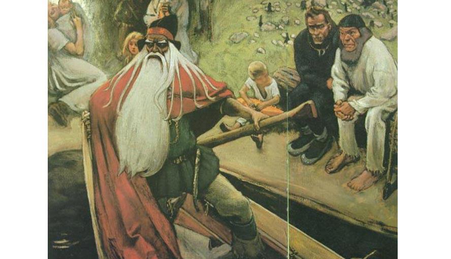The Fantastic Adventures Of Vainamoinen Finnish Hero Wizard