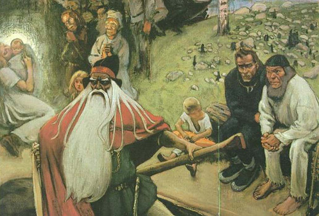 Akseli Gallen-Kallela: The Departure of Väinämöinen