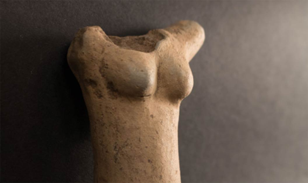Front of the main piece of the Stone Age Venus of Egerszeg Statuette recently unearthed in Hungary. Source: Göcsej Museum