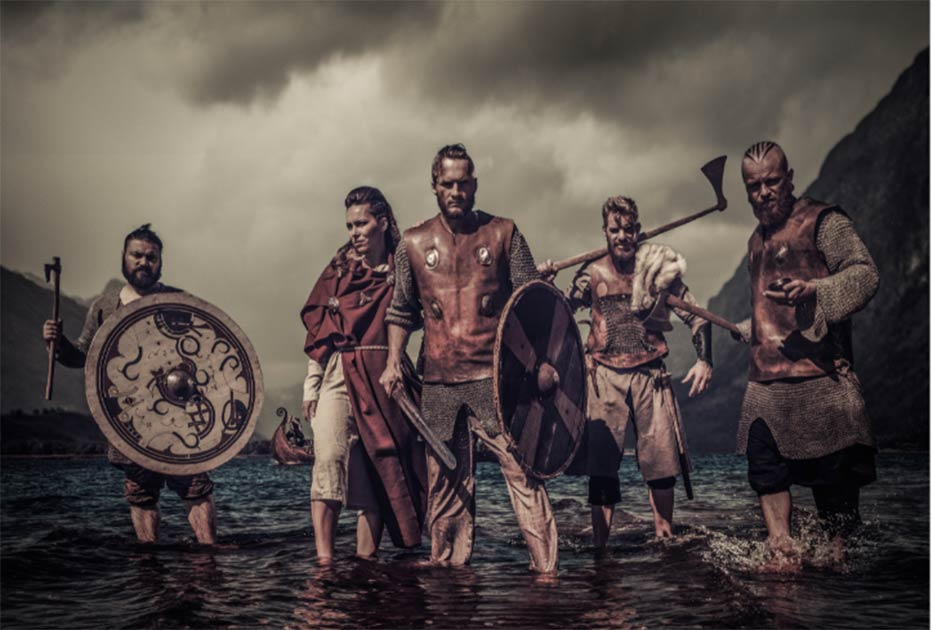 Genes of the Vikings traced across Europe.    Source: Nejron Photo / Adobe Stock