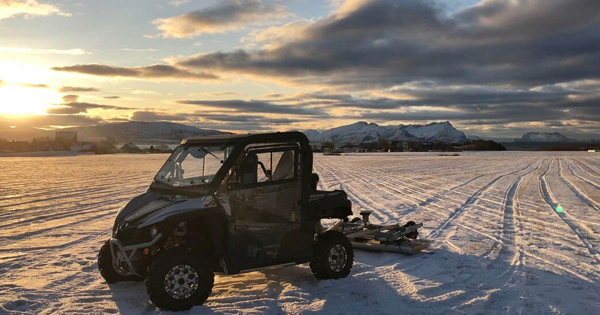 Ground-Penetrating Radar Locates Massive Viking Burial Mounds in Norway