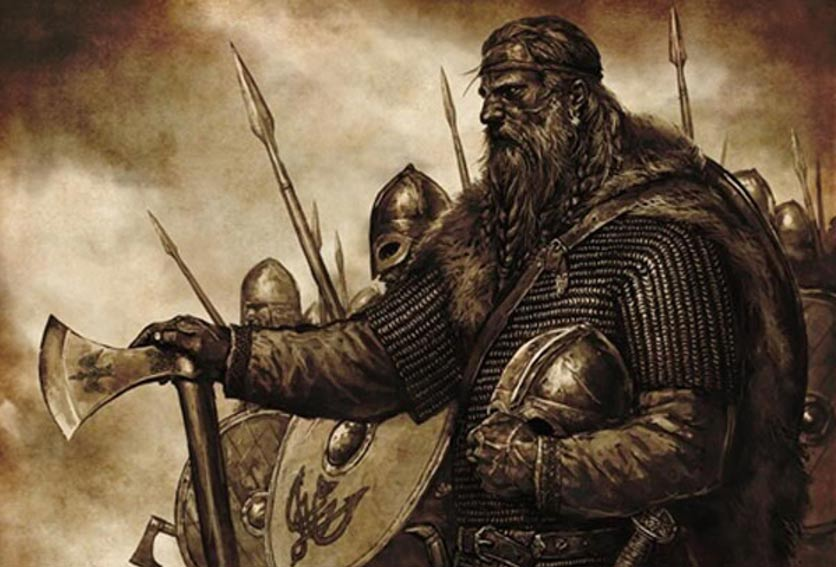 Artist's depiction of a Viking King