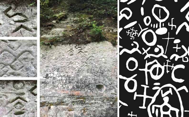 Latvia's Enigmatic Virtaka Cliff and Mysterious Gauja River Petroglyphs