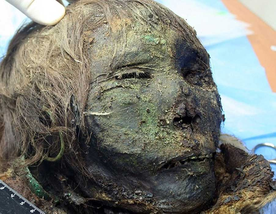 "Mummy of a 900-year-old Russian ""polar princess"""