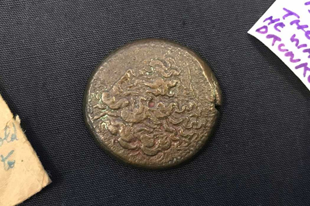The 2,200-year-old coin will go on display at the Cairns Museum later this year.