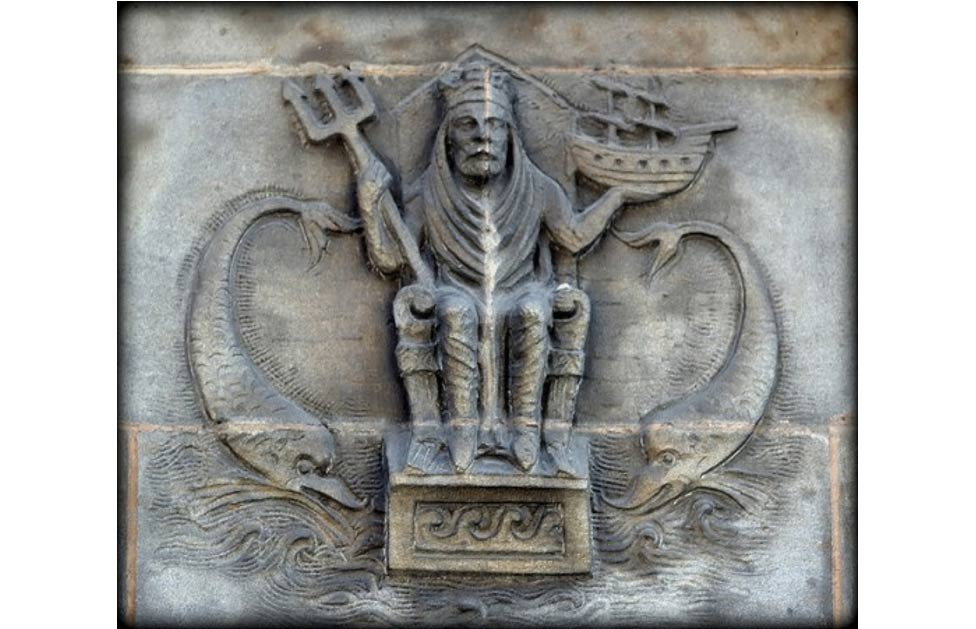 Neptune Carving