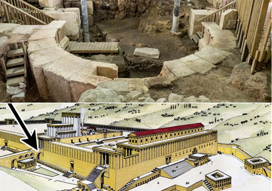 Scientists Settle Wilson's Arch Debate Pinpointing Temple Mount Origin