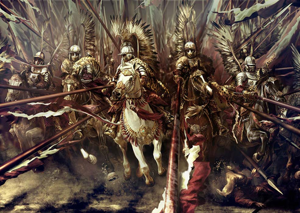 Representation of the Winged Hussars