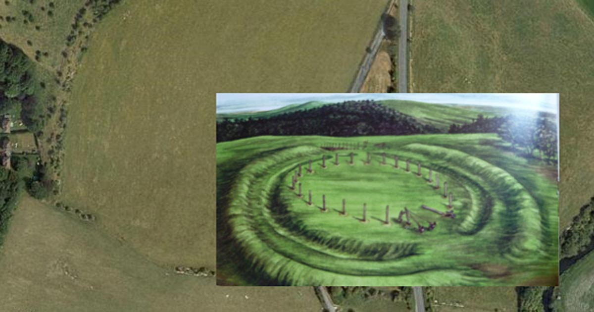 Remnants Of Gigantic Wooden Henge Found Two Miles From