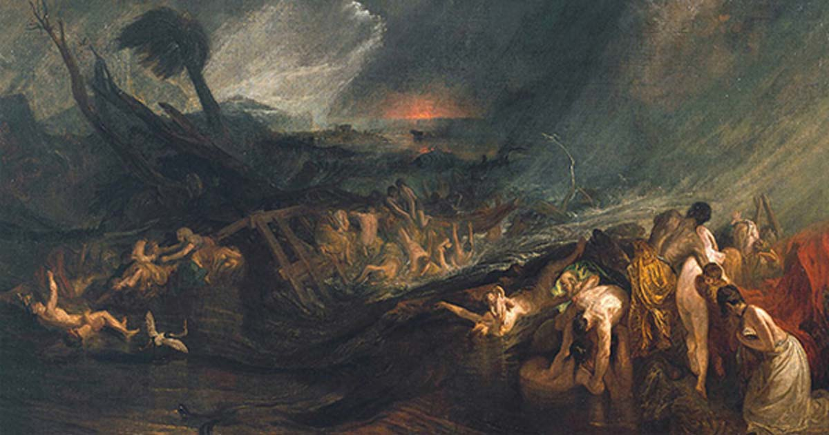 'The Deluge' (1805) by J.M.W. Turner.