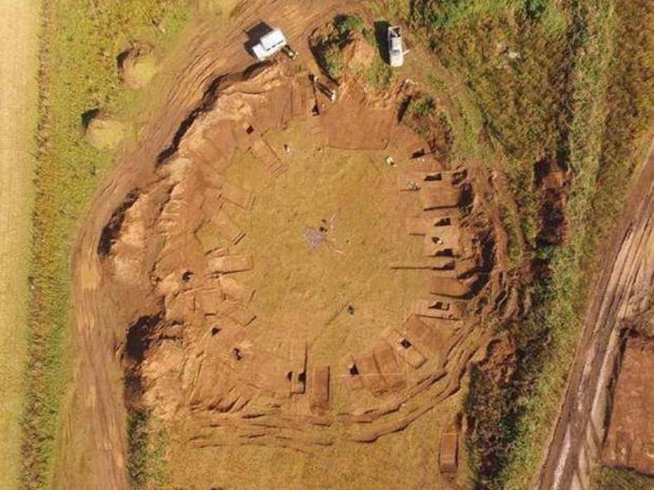 Yorkshires First Woodhenge.'