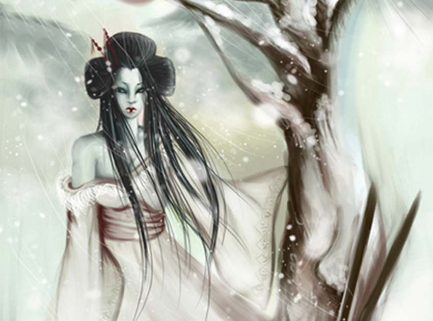 A Heart As Cold As Ice The Japanese Legend Of Yuki Onna The