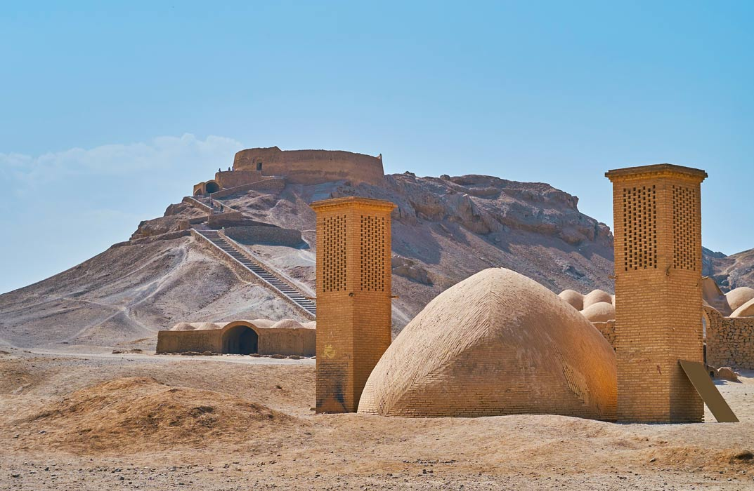 Zoroastrians have used Towers of Silence in their funerary practices
