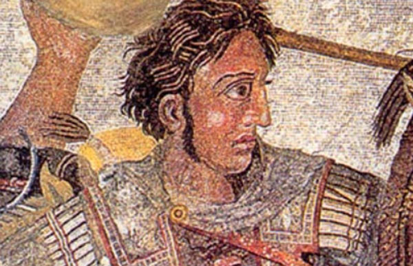 Alexander the Great - tomp Greece