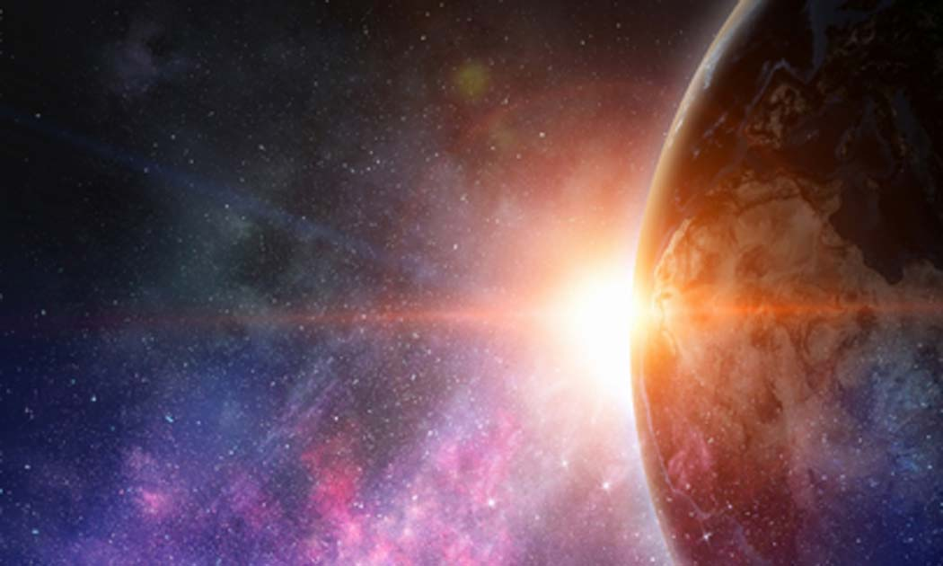 """Exoplanet """"K2-18b"""" is 50% water could possibly harbor alien life. Source: Sergey Nivens / Adobe Stock."""