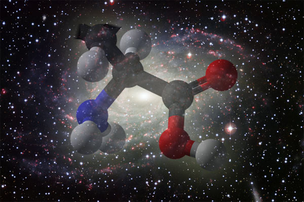 Life outer space - amino acids