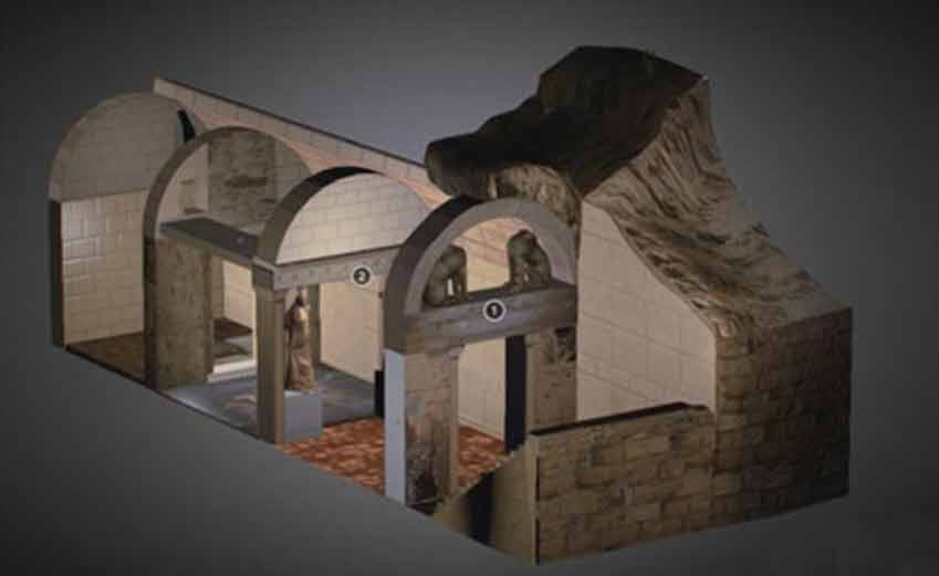 Amphipolis Tomb Reconstruction