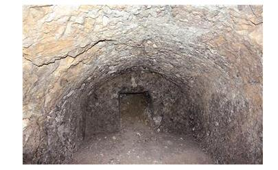 Anatolia ancient underground city in Turkey