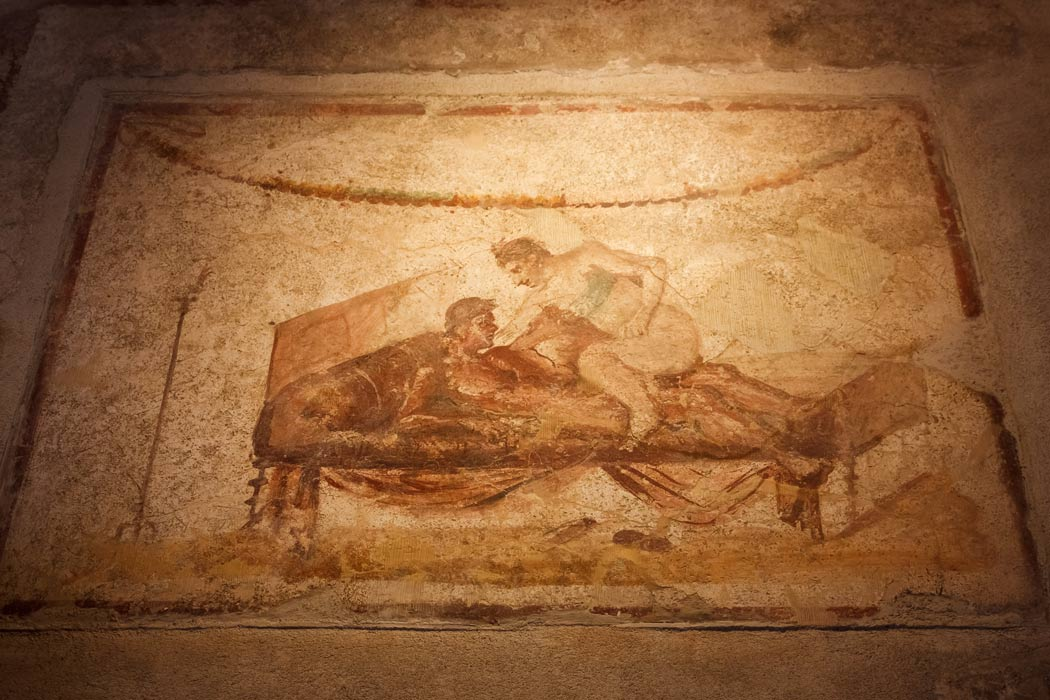 The Lupanare and Houses of Pleasure in Ancient Pompeii