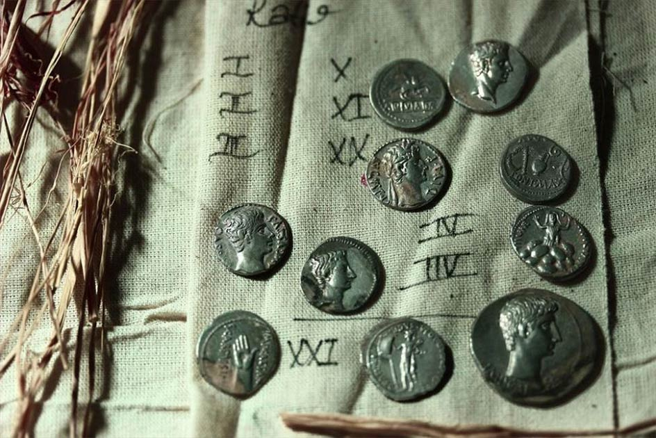 More than 650 priceless ancient Roman coins have been unearthed at the Aizanoi archaeological site in Turkey. Source: Andalou Agency