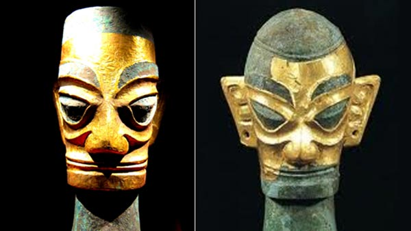 3,000-year-old Sanxingdui artifacts