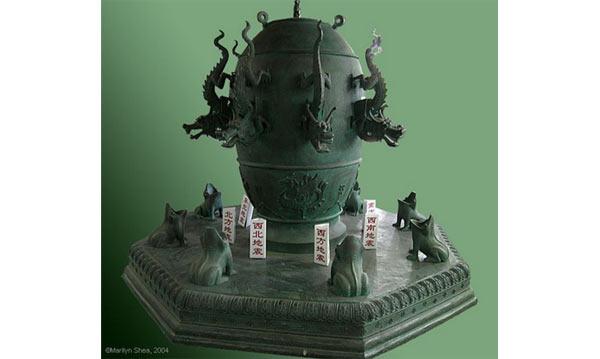 Ancient Chinese Earthquake detector - Zhang ('Chang') Heng