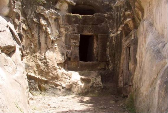 The Cave of the Horseman at Beit She'arim