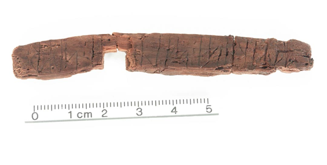 800-year-old message carved into Rune Stick Shows Ancient Code still used in Middle Ages
