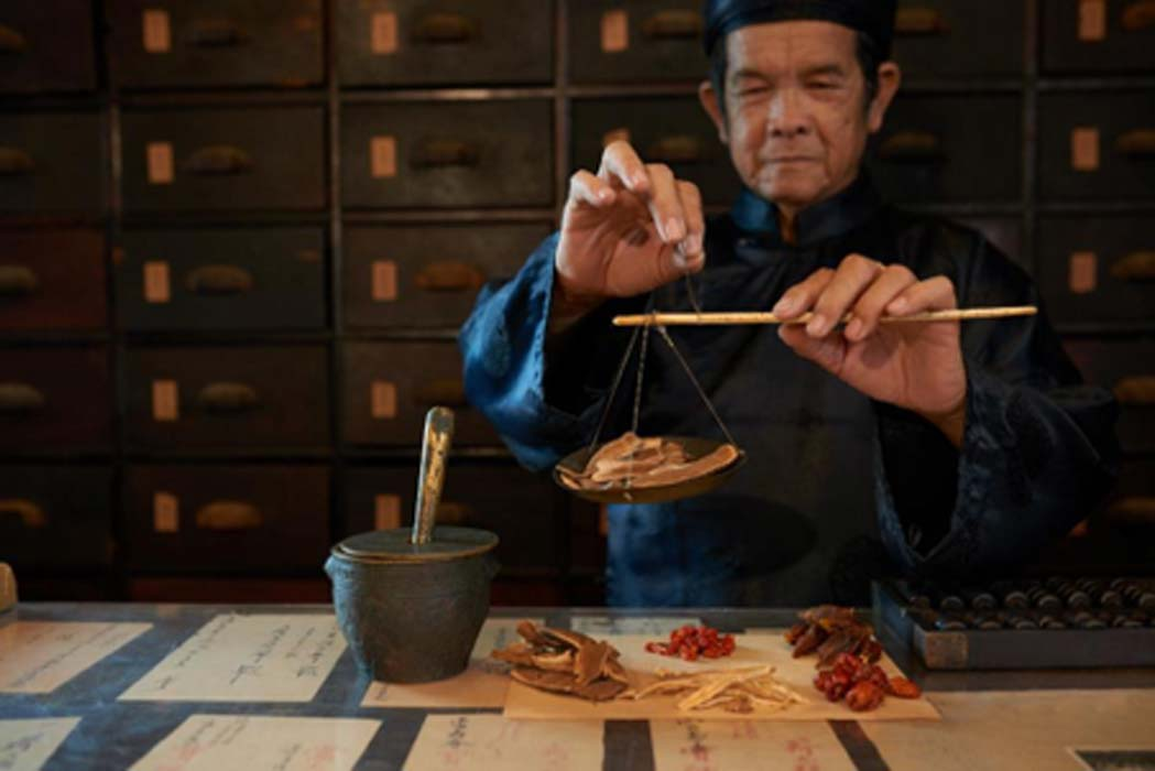 A man practicing Traditional Chinese Medicine (TCM). TCM includes some ancient remedies that can treat illnesses effectively. Source: DragonImages /Adobe Stock