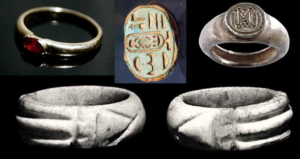 Gas Engineer S Large Collection Of Ancient Rings May Fetch
