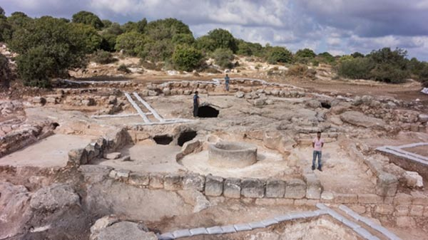 The Rock At Beth Shemesh: Ancient Industrial-scale Wine Press And Monastery