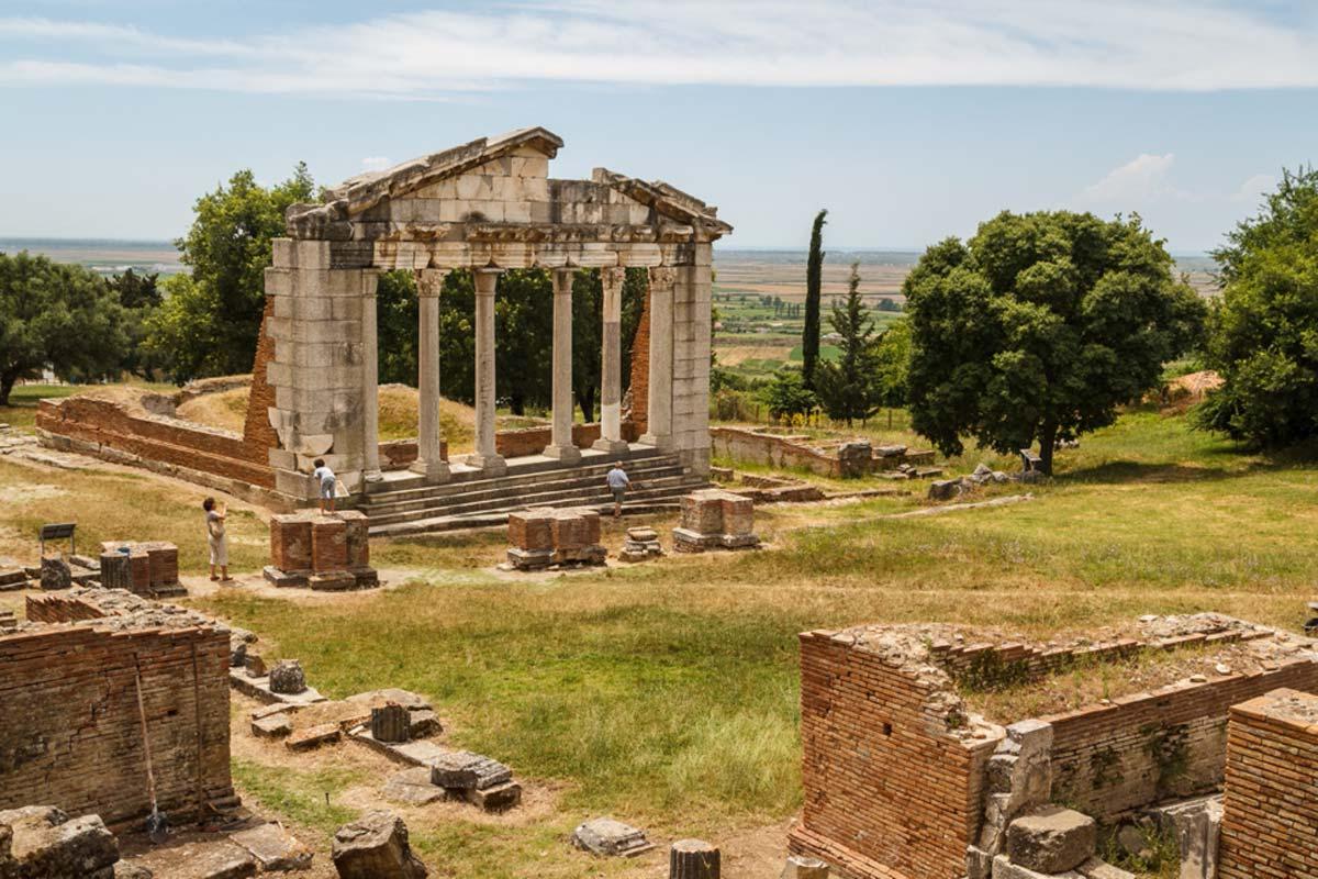 Ερείπια της Απολλωνίας, Αλβανία