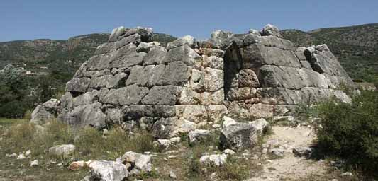 Pyramid in Argos, Greece
