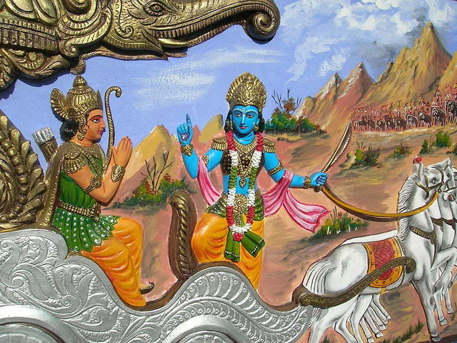 The Bhagavad Gita. Source: General Press / CC BY-SA 2.0.