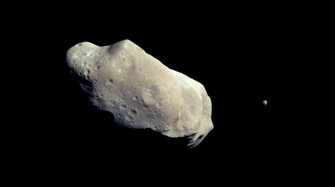 NASA capturing Asteroid