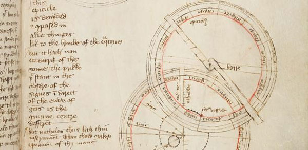 600-year-old astronomical sketch