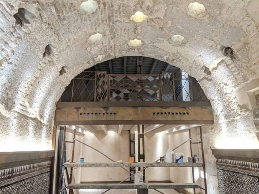 Renovations at Cervecería Giralda uncovered the remains of an ancient Seville bathhouse. Source: Álvaro Jiménez