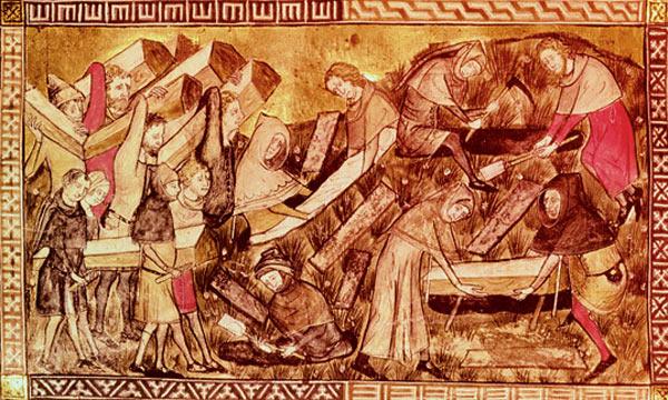 Black Death at Tourinai