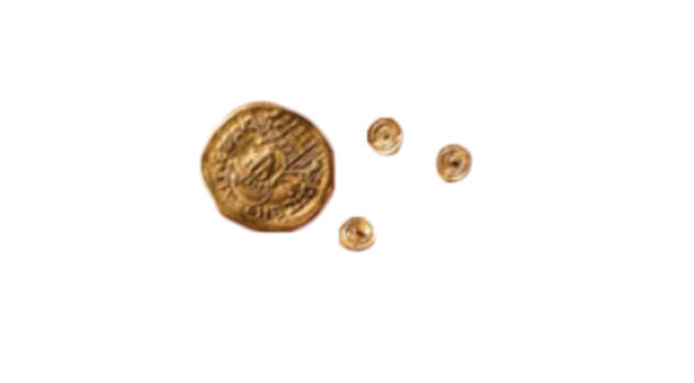 Byzantine Coins and Gold