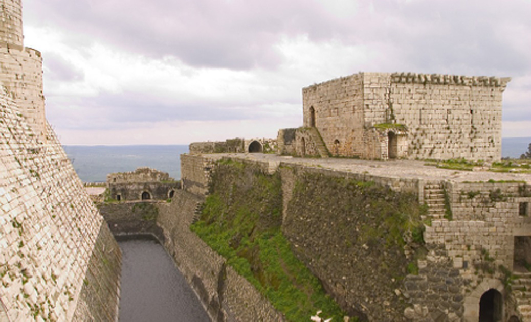 The Krak des Chevaliers: Can this Crusader Fortress Survive the Current Syrian Conflict?