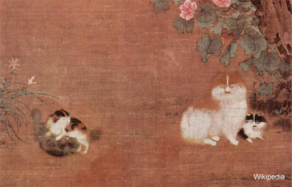 chinese may have loved cats before ancient egyptians