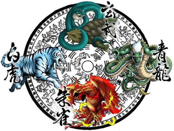 The Four Mythological Symbols of China | Ancient Origins