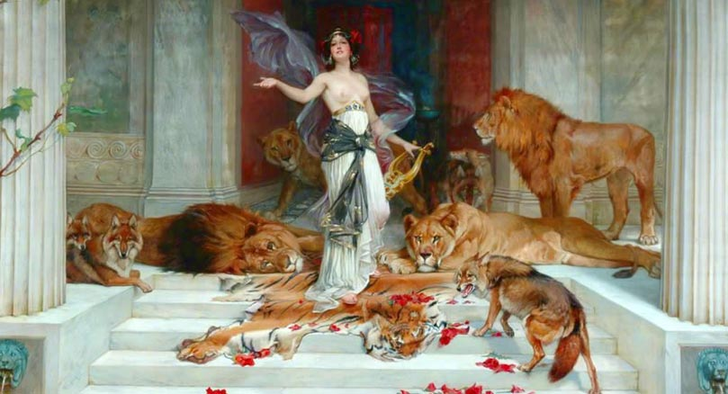 The Spellbinding Story Of Circe Goddess Of Magic