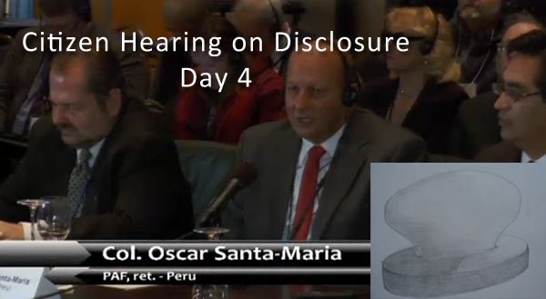 Citizen Hearing on Disclosure - Day 4