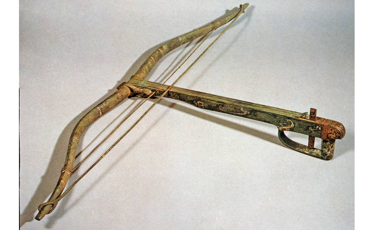 Crossbow from 2,200 years ago found at Terracotta Warrior site