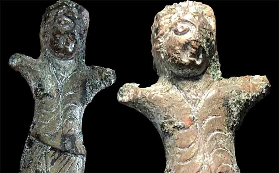 Dancing Figurine from Ancient India Travelled Silk Road To Siberia!