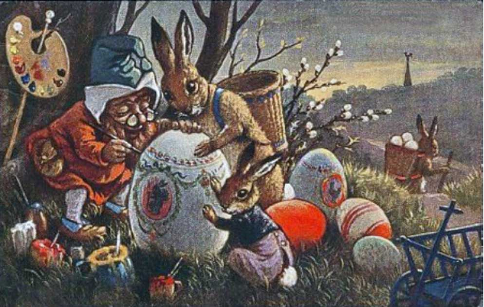 The Very Strange History Of The Easter Bunny Ancient Origins