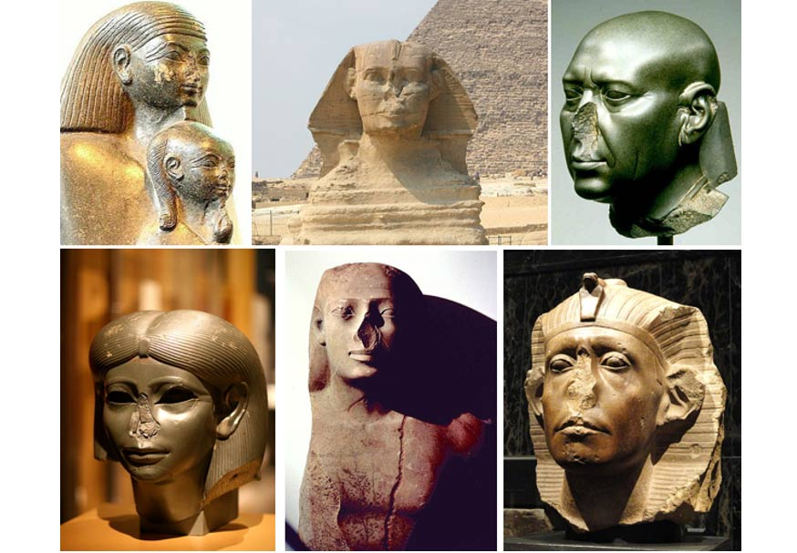 Image result for egyptian statues