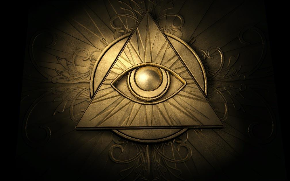 The all-seeing Eye of Providence symbol Source: markus dehlzeit / Adobe stock